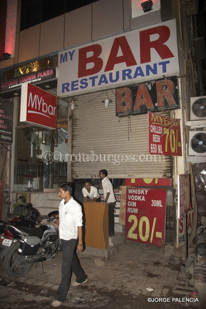 MY BAR EN MAIN BAZAR, DELHI